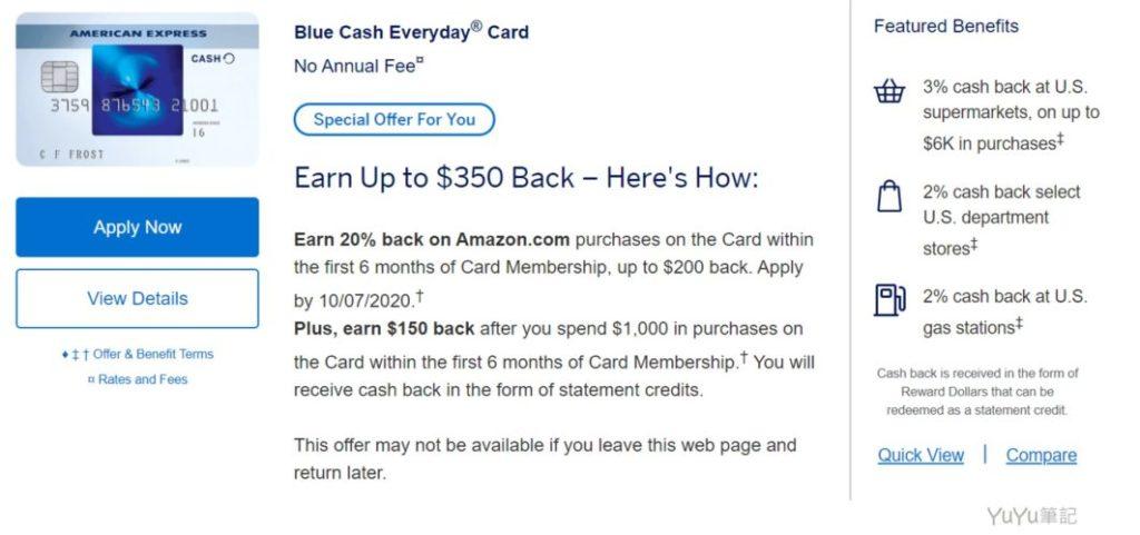 Blue Cash Everyday