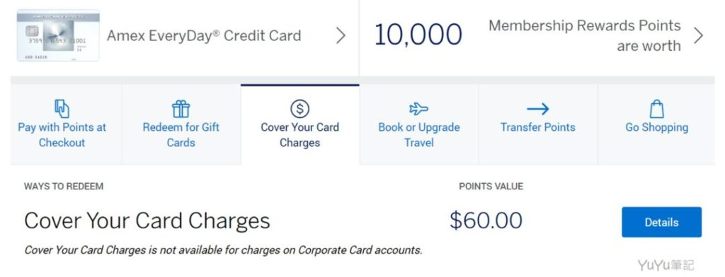 Cover Your Card Charges