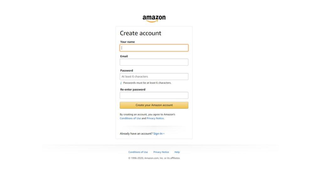 create an account-2