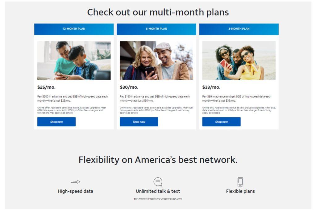 ATT multi-month plan