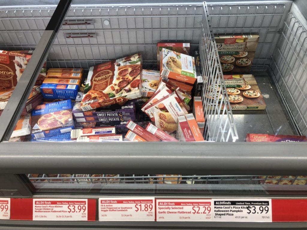 ALDI-冷凍加熱食品