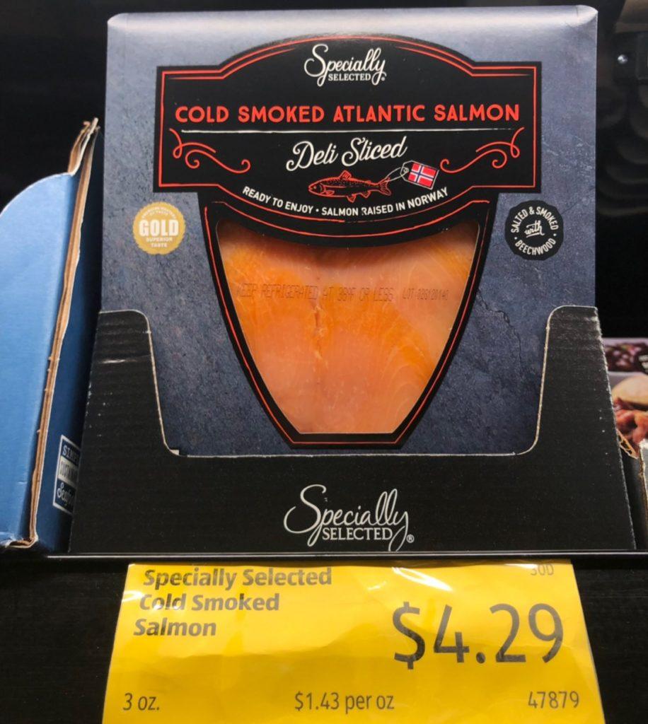 ALDI-煙燻鮭魚