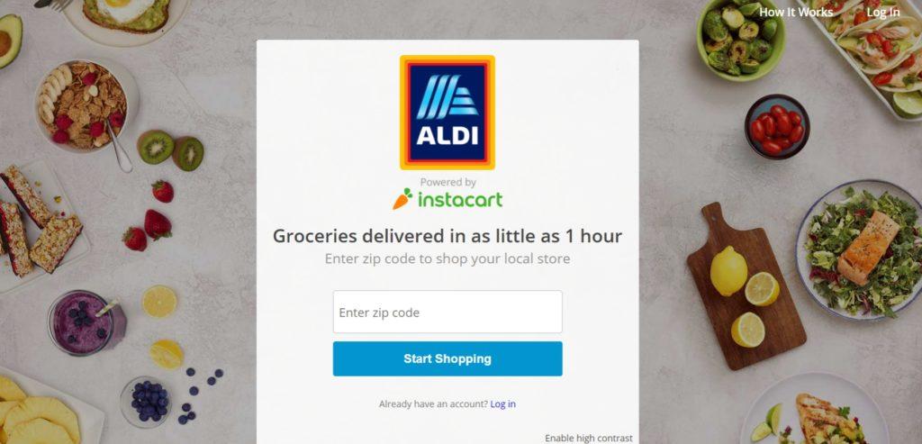 ALDI-instacart delivery