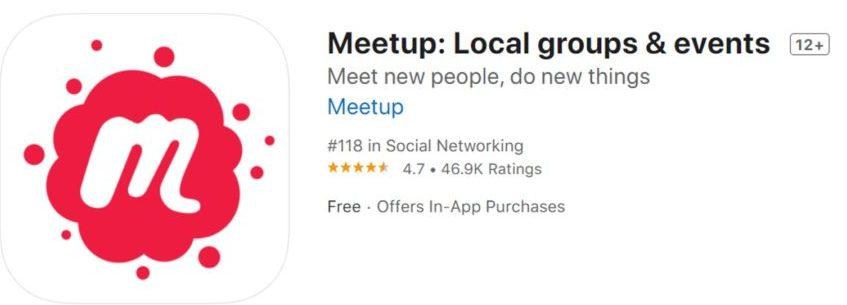 meetup app 1