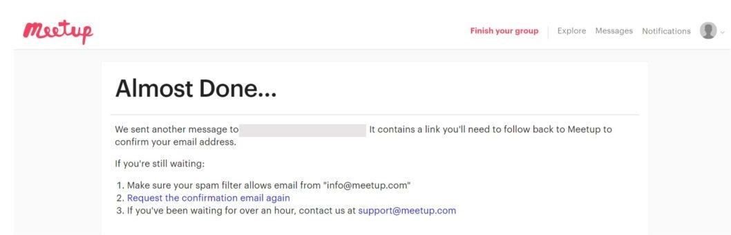 meetup-sign up 2