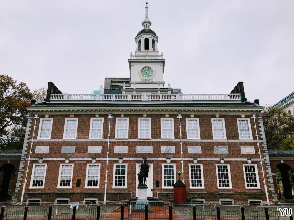 費城景點-獨立廳 Independence Hall
