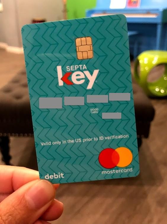 SEPTA key card