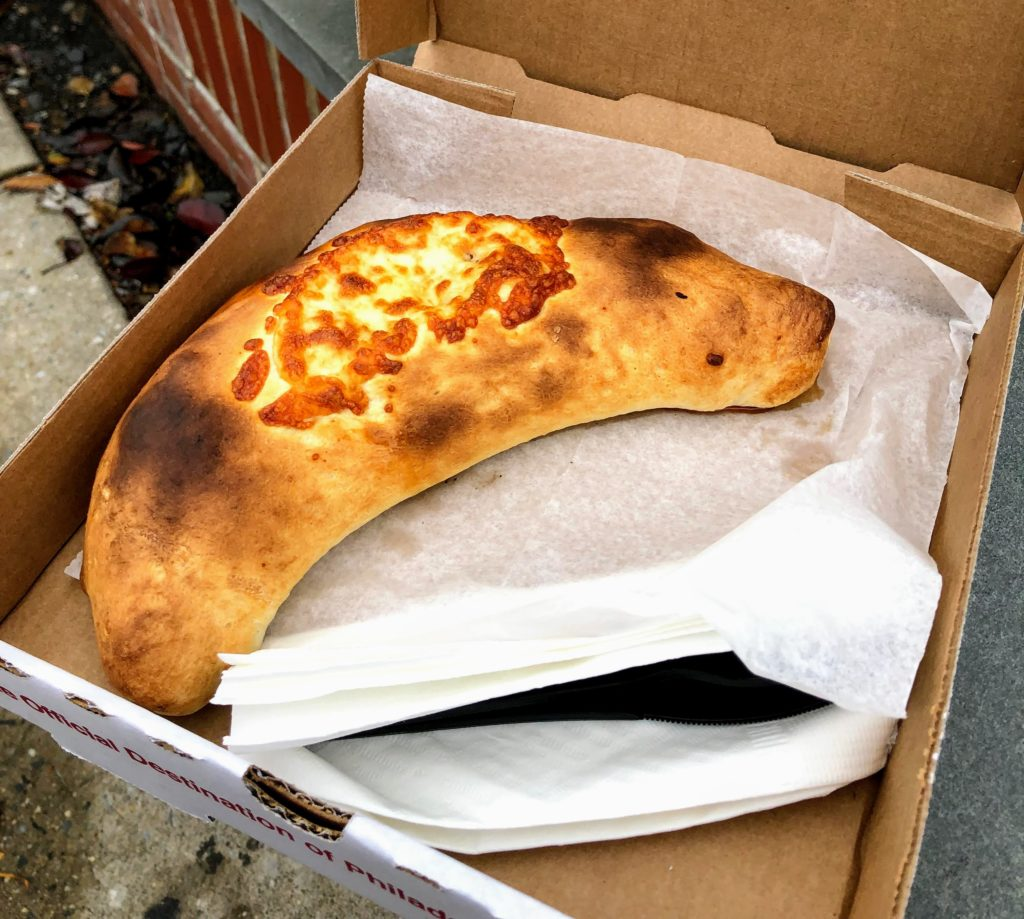 費城美食 - Petes Famous Pizza - stromboli