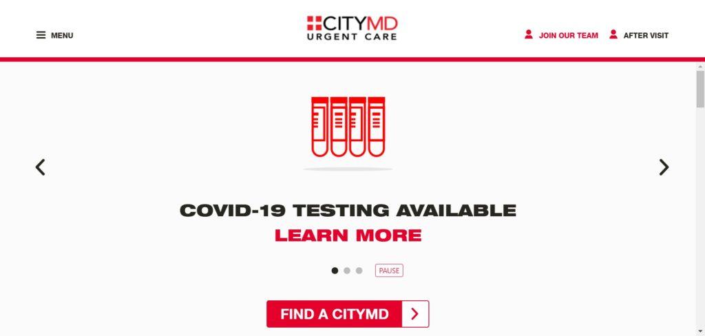 紐約免費covid19核酸檢測-CityMD covid-19 testing
