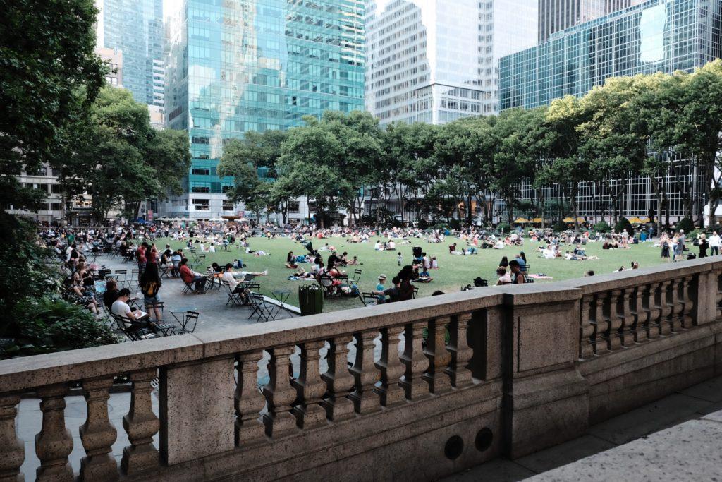 紐約放空景點-布萊恩公園 Bryant Park