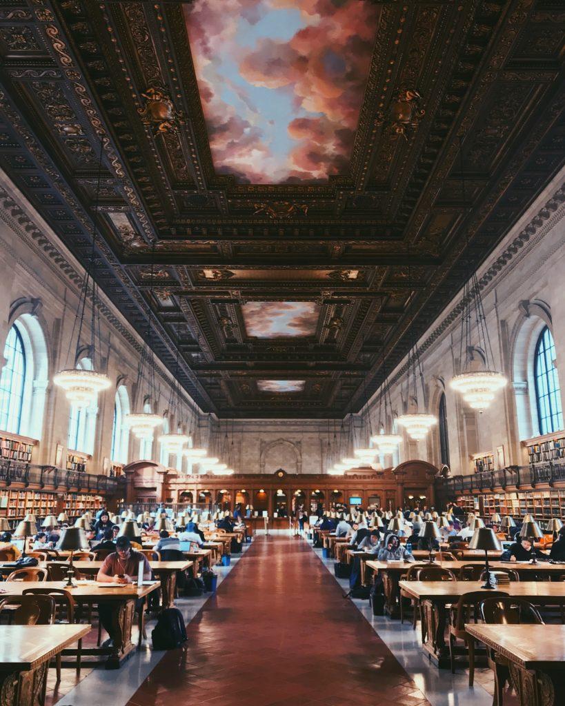 紐約放空景點-布萊恩公園 Bryant Park-New York Public Library