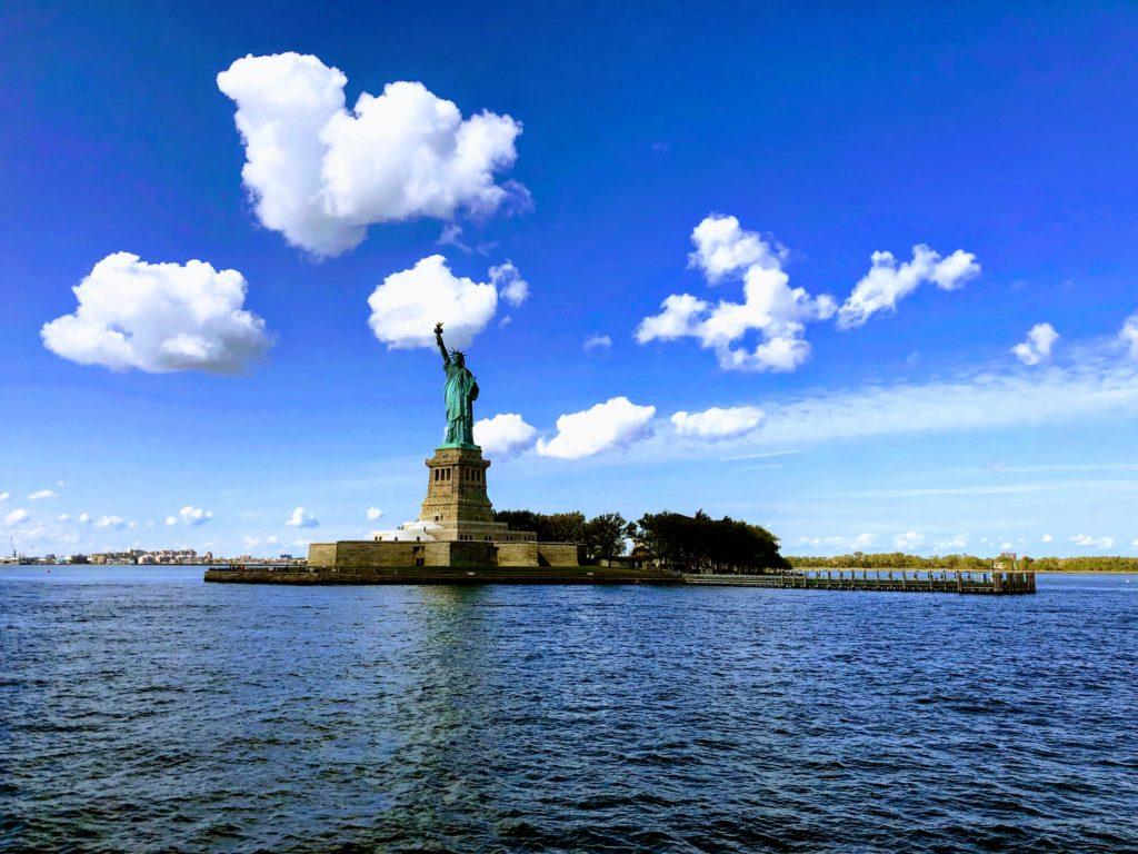 紐約放空景點-自由女神像