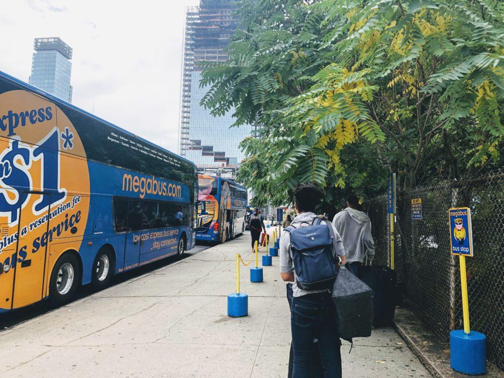 Megabus 購票 - 搭乘經驗分享 - 2
