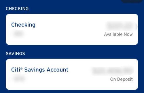 Checking vs. Saving Account